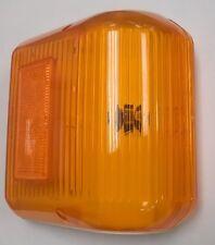 30-86-006 BARGMAN AMBER WRAP-AROUND SIDEMARKER LIGHTS, PAIR