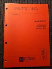 (306MB) Manuel d'atelier PEUGEOT PARTNER - Diagnostic, outillage, alim...