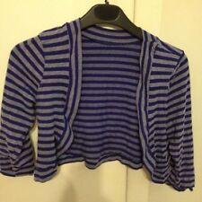 Cotton Bolero, Shrug Striped Coats & Jackets for Women