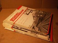 11 issues - 1960 Model Engineer Magazines - Volume 132, January - June 1960