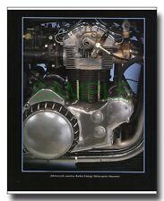 Munch Mammoth 1200cc four cylinder engine framed picture NSU