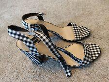 Sam Edelman Circus - Gingham Block Heels - Women's Size 10