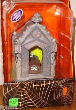 LEMAX Spooky Town HAUNTED CRYPT Lighted Gothic Cemetery Piece NEW