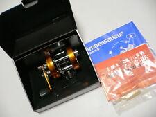 HTF Abu Garcia Ambassadeur 2500C Sunset Orange Baitcasting Reel EX W/Box