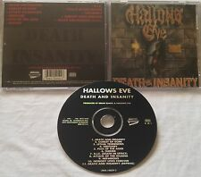 Hallows Eve - Death and Insanity CD METAL BLADE rigor mortis blood feast exciter