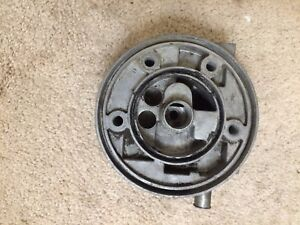 Jaguar XJ6  1969-1975 SMALL Canister Oil Filter Head or Base.