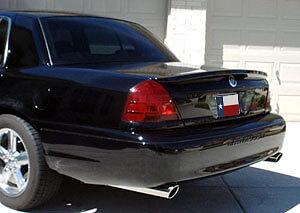 Fits: Mercury Marauder 2003-2005 Lip Mount Factory Rear Spoiler (Primer Finish)