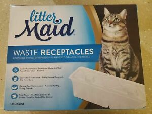 LitterMaid Waste Receptacles LMR200 - 10Count ONLY- OPEN BOX NEW