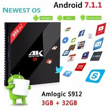 H96 Pro+ Utra HD 4K Android 7.1.1 TV Box 3G RAM/32GB ROM- Amlogic S912 NEWEST OS