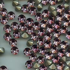 1028/SS34/AP**8 Strass Swarovski  fond conique 7,2mm ANTIQUE PINK  F
