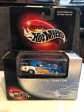 Hot Wheels 100% Black Box Blue Pontiac Funny Car w/Real Riders