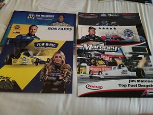 20 - 2021 NHRA Pro Handouts From TF - FC - PS - PSM - All Different