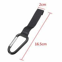 2pcs Universal Pram Stroller Pushchair Bag Hooks Carabiner Stroller Clips Good