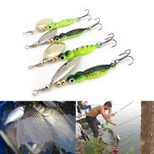 4X8.5cm/14.9g Mepp Spinner Bait Fishing Lure Metal Willow Sequin ArtificialBait: