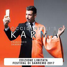 Francesco Gabbani Vinile 45 giri 7 Occidentali's Karma numerato