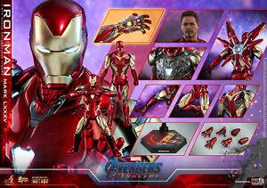 Hot Toys Marvel Avengers Endgame Iron Man Mark LXXXV Die Cast Sixth Scale Figure