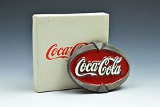 Vintage Coca Cola Pewter Red White Limited Edition Numbered Coke NEW in Box