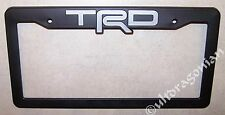 TRD License Plate Frame Tundra Tacoma FJ Scion tC FRS Camry - CLEARANCE AS-IS