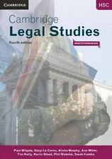 Cambridge HSC Legal Studies 4ed Pack (Textbook and Interactive Textbook) by...