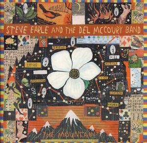 Steve Earle & The Del McCoury Band : The Mountain (HDCD 1999) FREEUK24-HRPOST!!