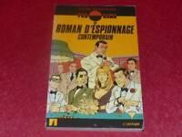 [BIBL.H.& P-J.OSWALD] J.P. SCHWEIGHAEUSER / PANORAMA ROMAN ESPIONNAGE 1986