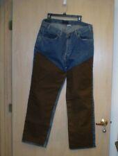 Chapants By Big E Chaps Denim Cotton Welding Pants Jeans 40x32 Irregular Up134