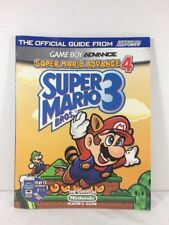 Super Mario Bros. 3 & Advance 4 Official Strategy Guide (GBA) by Nintendo Power