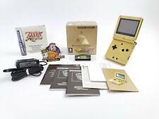 "Nintendo Gameboy Advance Sp Konsole "" Zelda Limited Edition "" Minis Cap | Ovp"