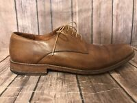 Crosby Square Mens Size 11.5 Brown Leather Oxfords Dress Shoes