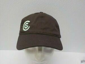 Cleveland Golf Hat Cap Baseball Brown OSFA Adjustable