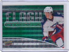 14-15 Upper Deck Overtime Flash of Excellence Green #7 Ryan Johansen Predators