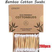 Friendly Bambo Cotton Swab Baumwolle Buden Das Ohr Nasenohr Reinigende Stöcke