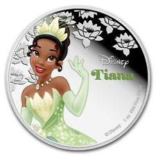 Niue - 2015 - 1 OZ Silver Proof Coin- Disney Princesses - Tiana