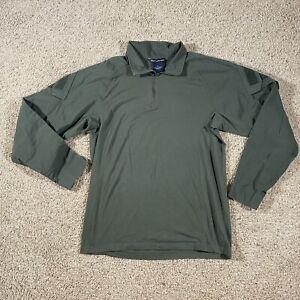 5.11 Tactical Series XL Green 1/4 Zip Pullover Rapid Assault Long Sleeve Shirt
