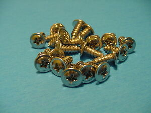 Ford 20 Low Profile #8-7/16'' Self Tapping Wheel Well Moulding Trim Screws NOS