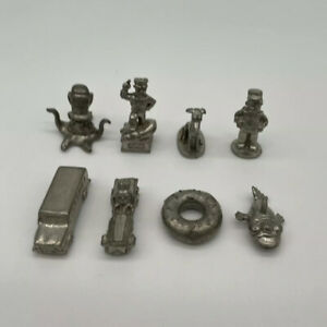The Simpsons Monopoly Board Game Spare Parts Replacement Charactor Tokens X8