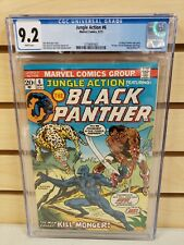 Jungle Action #6 1973 MARVEL Comics 1st Appearance of Erik Killmonger CGC 9.2