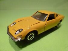 GAMA MINI 9830 OPEL GT 1900 - YELLOW 1:41 - GOOD CONDITION