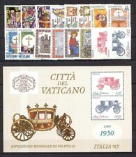 1985 - VATICAN - COMPLETE YEAR SET - MNH**
