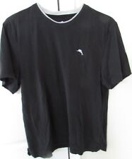 Tommy Bahama Black T-Shirt Medium