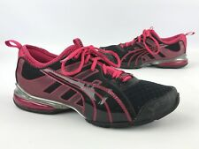 PUMA Women's Voltaic 4 Fade Running Shoes Black / Pink Size 8.5