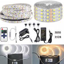 5M 4m 3m 2m 1m SMD RGB 5050/3528 300LEDs Cold/Warm White Strip Light Waterproof