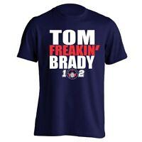 Tom Freaking Brady New England PATRIOTS Jersey Boston Football Men's T-Shirt