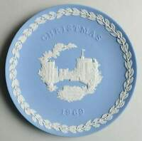 Wedgwood JASPERWARE-CHRISTMAS PLATE 1969 Windsor Castle