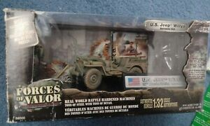 Forces of Valor US Willys Jeep Normandy 1944 82nd airborne