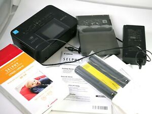 Canon SELPHY CP910 Wireless Compact Photo Printer w/supplies toner paper UNUSED