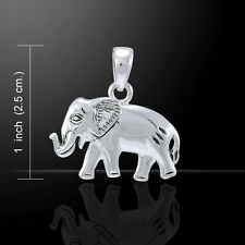 Elephant .925 Sterling Silver Pendant by Peter Stone