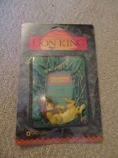 Vtg Disney Lion King Adult Simba Easel Back Decorel Picture Photo Frame