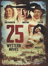 25-Film Big Box of Westerns (DVD, 2015, 5-Disc Set) LIKE NEW