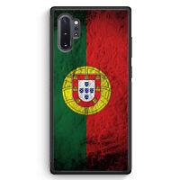 Portugal Splash Flagge Samsung Galaxy Note 10+ Plus Silikon Hülle Motiv Desig...